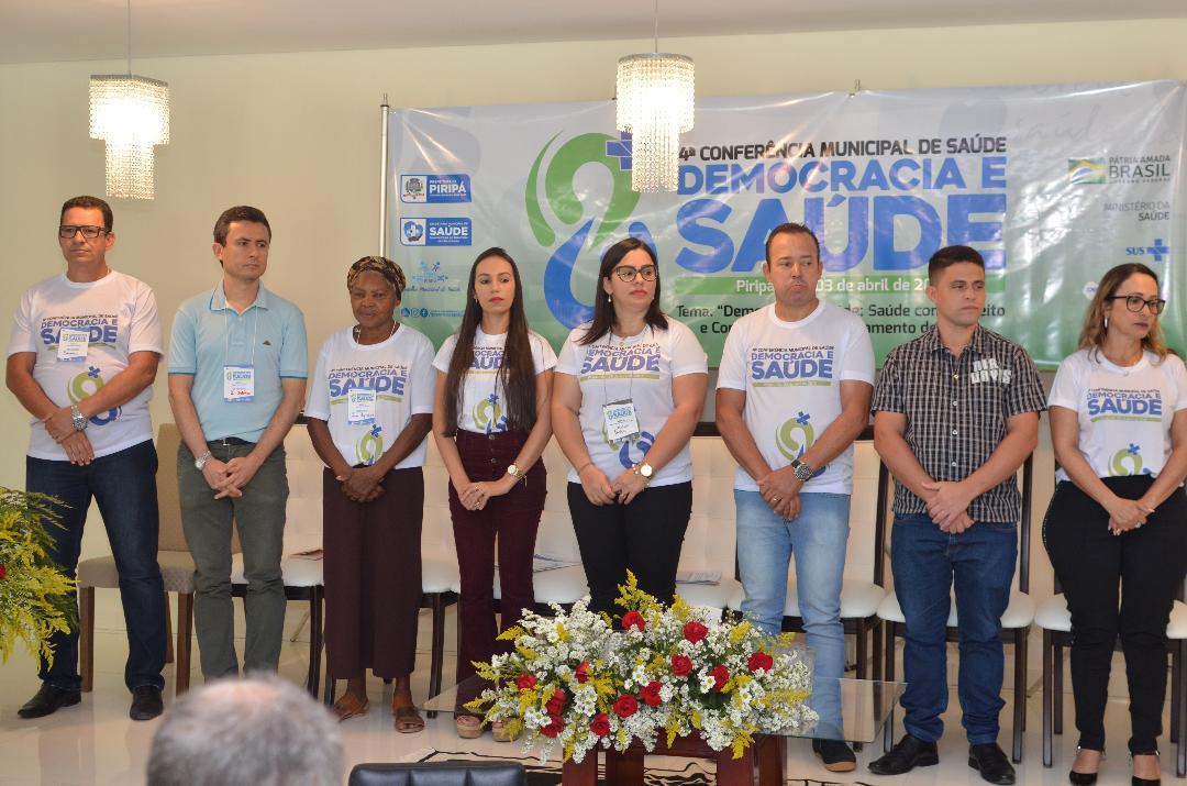 Imagem Secretaria Municipal de Saúde e CMS realizam 4ª Conferência de Saúde de Piripá