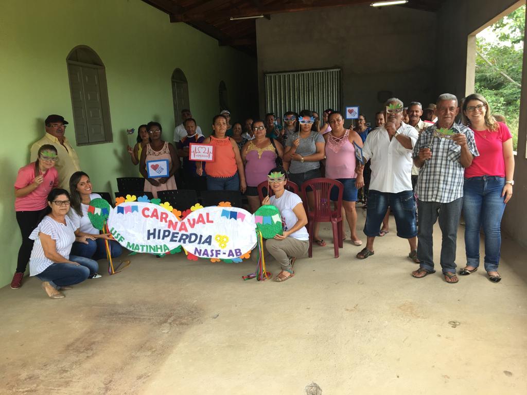 Imagem Saúde realiza ações com grupo de hiperdia