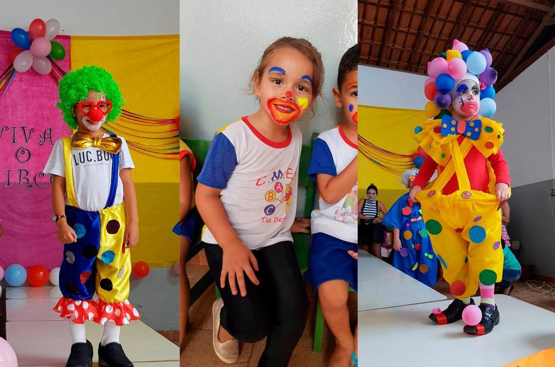 Imagem Dia do Circo é comemorado no CMEI Tia Deninha
