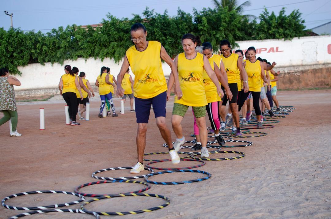 Imagem Projeto Piripá Fitness realiza atividades no estádio 'O Goiabão'