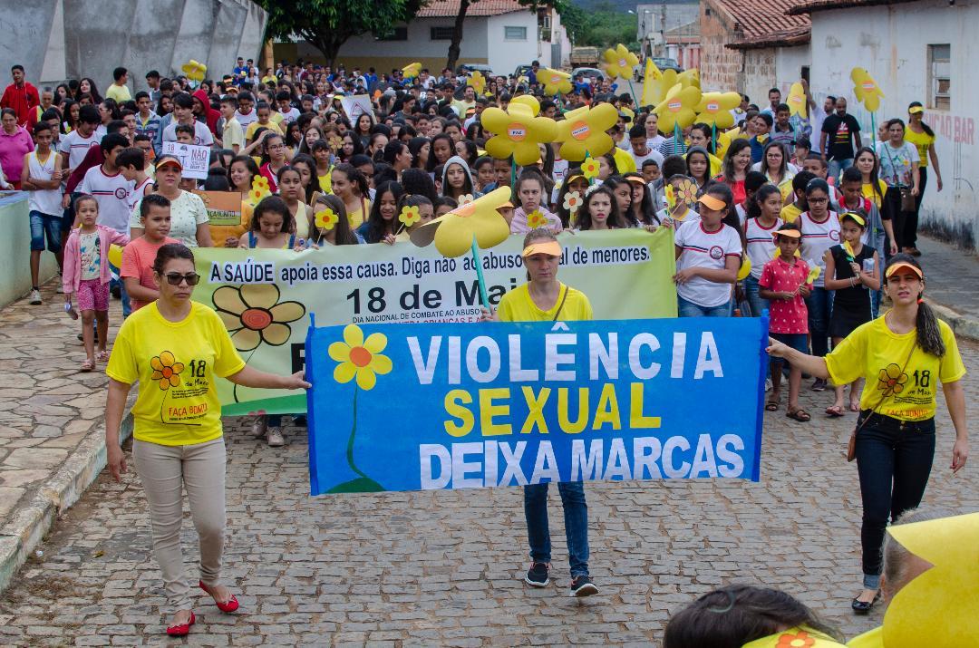 Imagem Piripá realiza caminhada em combate ao abuso e exploração sexual de crianças e adolescentes