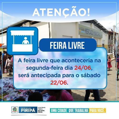 Imagem Feira Livre Municipal
