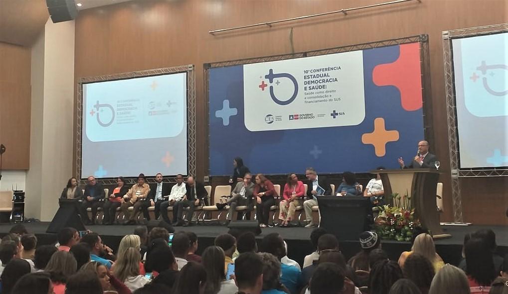 Imagem Delegados de Piripá apresentam propostas na 10° Conferência Estadual de Saúde, em Salvador